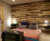 15 Photos Wall Accents Made From Pallets