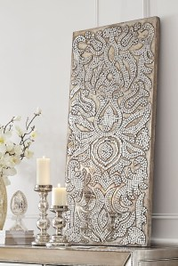 15 Best Collection of Damask Fabric Wall Art