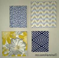 Top 15 of Fabric Wrapped Canvas Wall Art