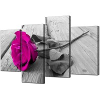 15 Best Collection of Pink Canvas Wall Art