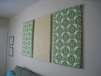 15 The Best Diy Framed Fabric Wall Art