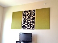15 Ideas of Fabric Panels For Wall Art