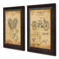 2018 Latest Vintage Bath Framed Art Prints Set Of 3