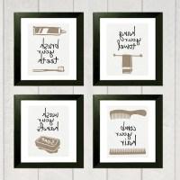 Article: Framed Art Prints Bathroom