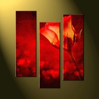 Best 15+ of Large Red Canvas Wall Art