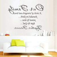 15 Best Canvas Wall Art Family Quotes