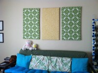 15 The Best Vintage Fabric Wall Art
