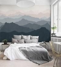 15 Ideas of Wallpaper Bedroom Wall Accents