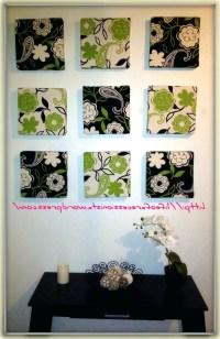 15 The Best Diy Framed Fabric Wall Art