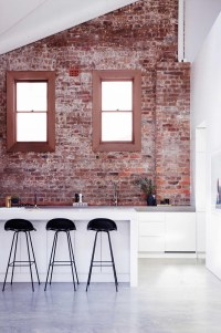 15 Collection of Exposed Brick Wall Accents