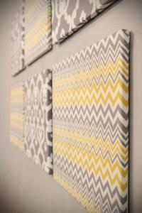2018 Popular Fabric Wrapped Styrofoam Wall Art