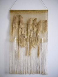 15 Photos Woven Fabric Wall Art