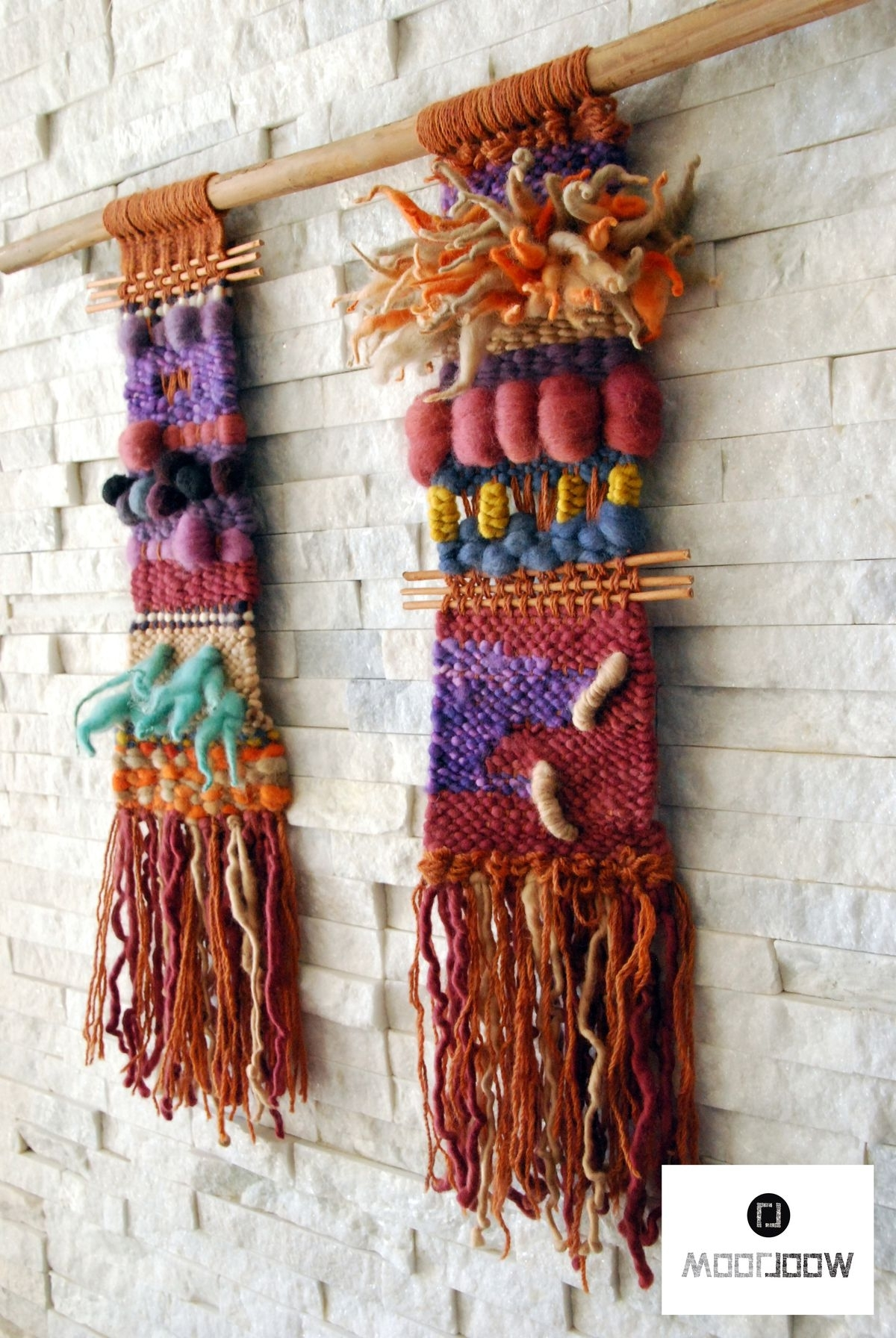 Top 15 of Woven Textile Wall Art