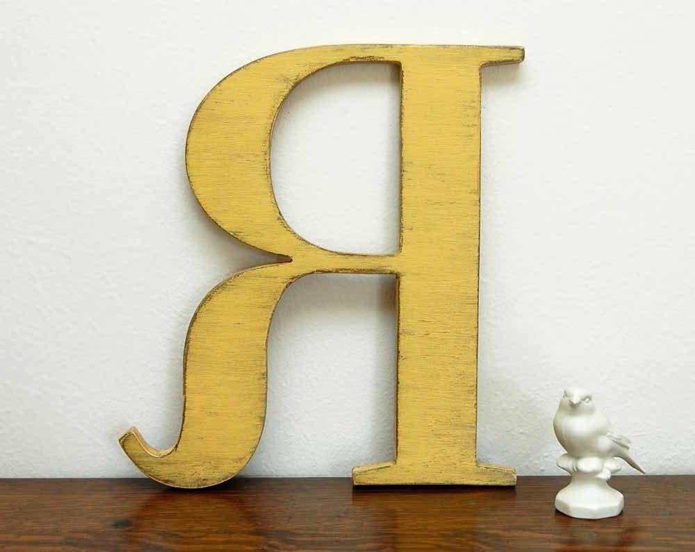 Metal Letter R Wall Art - r scrap metal letter art wall art canvas ...
