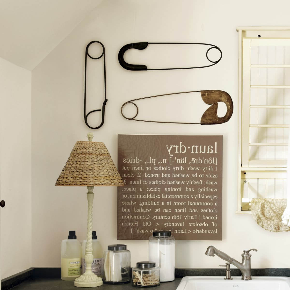 20 Best Metal Laundry Room Wall Decor