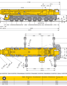 tonne crane dimensions also bernard hunter ltm rh bernardhunter