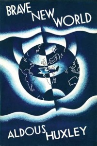 Cover of the first edition of Brave New World