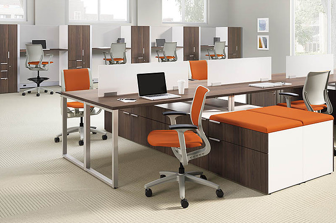 Benching Systems  Bernards Office Furniture