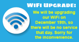 No WiFi on December 19