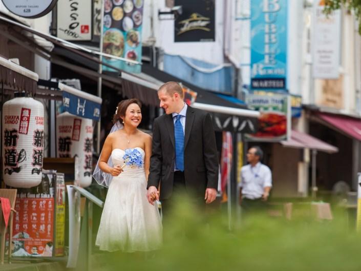 Pre-wedding Portraits of Mark & Yui