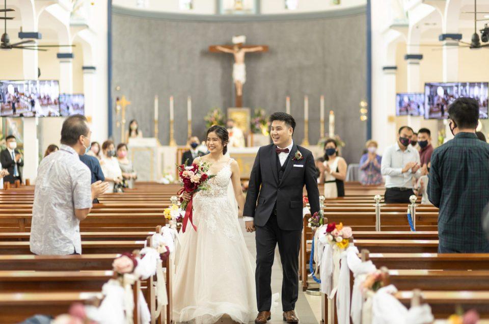 Wedding of Paul & Valerie