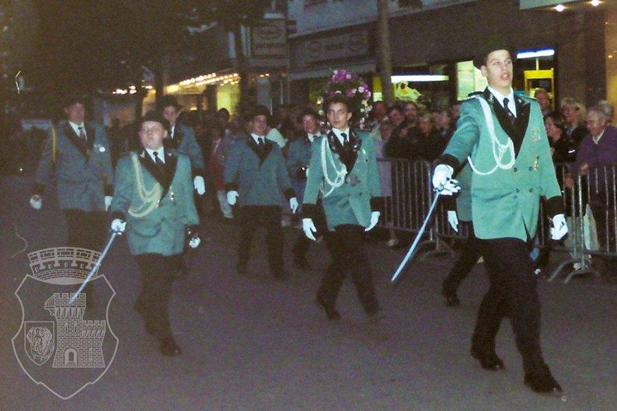 Die Parade am Kirmesdienstag 1997