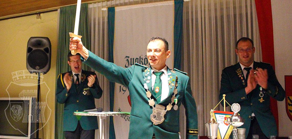 Andres I. Remis Sanchez mit Excalibur!