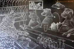 Bar Mural - Butcher's Brewing
