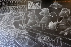 Bar Mural - Butcher's Brewing