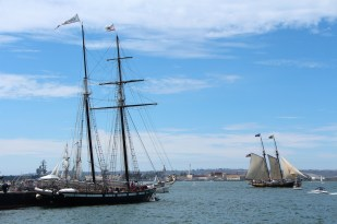 Spirit Sailing by the Californian - Festival of Sail