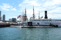 USS Dolphin Among Friends - Festival of Sail