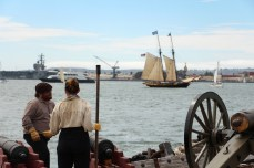 Preparing to Fire - Festival of Sail