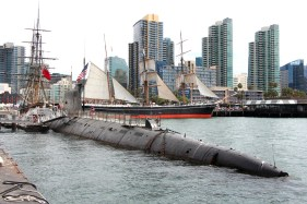 B-39 Submarine - Enemy to Friend - Festival of Sail