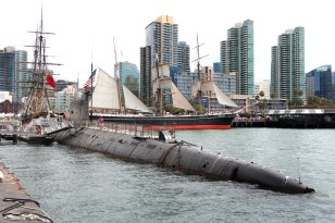B-39 Submarine - Enemy to Friend - Festival of Sail
