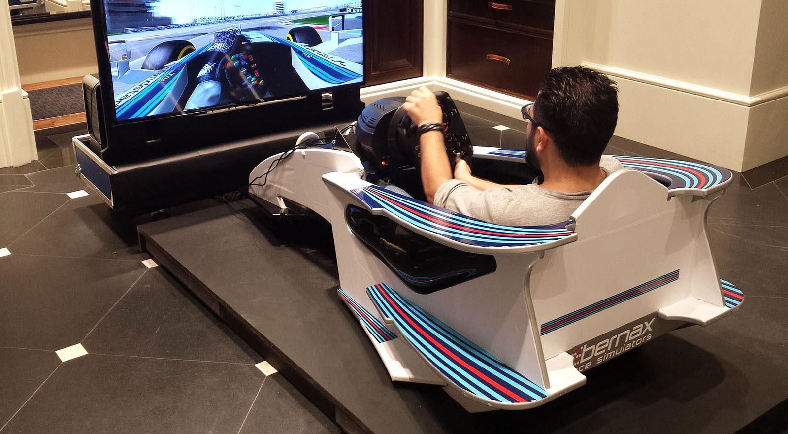 racing simulator chair plans diy rail buy a race bernax simulators