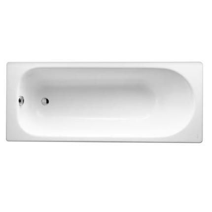 baignoire rectangulaire soissons 150 x 70 fonte emaillee blanc jacob delafon ref e2941 00