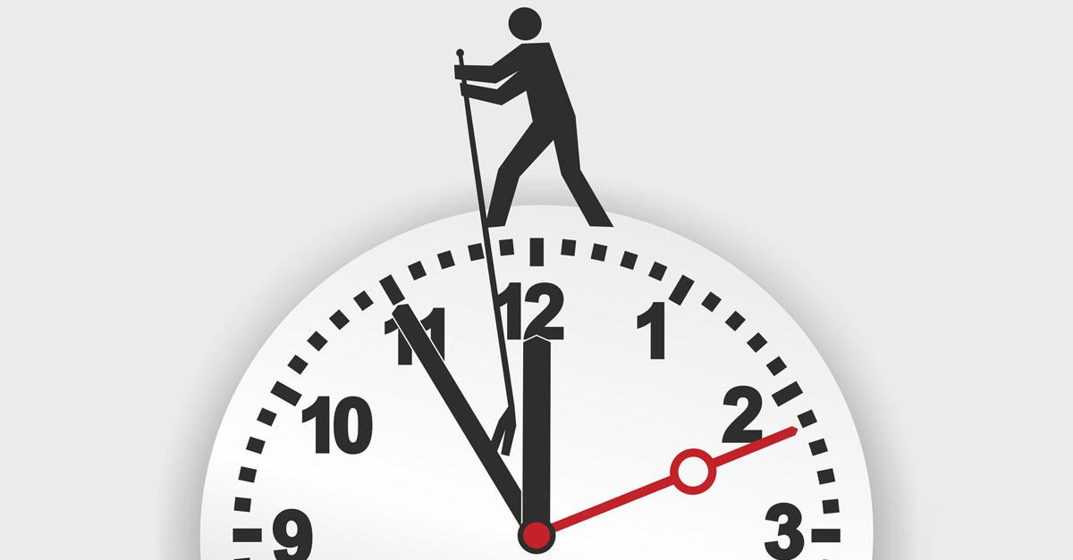 Zurück Auf Los: Warum Zeit Zurückdrehen Zeitverschwendung Ist