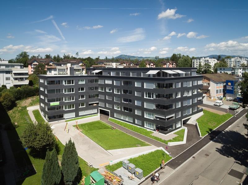 <b>Neubau Wohnüberbauung Tägernau, Tägernaustrasse 17 + 19</b>
