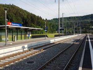 <b>Bahnhofausbauten 4. TE Winterthur - Bauma - Rüti, Tösstal / Bahnhof Sennhof-Kyburg (ARGE UBT)</b>