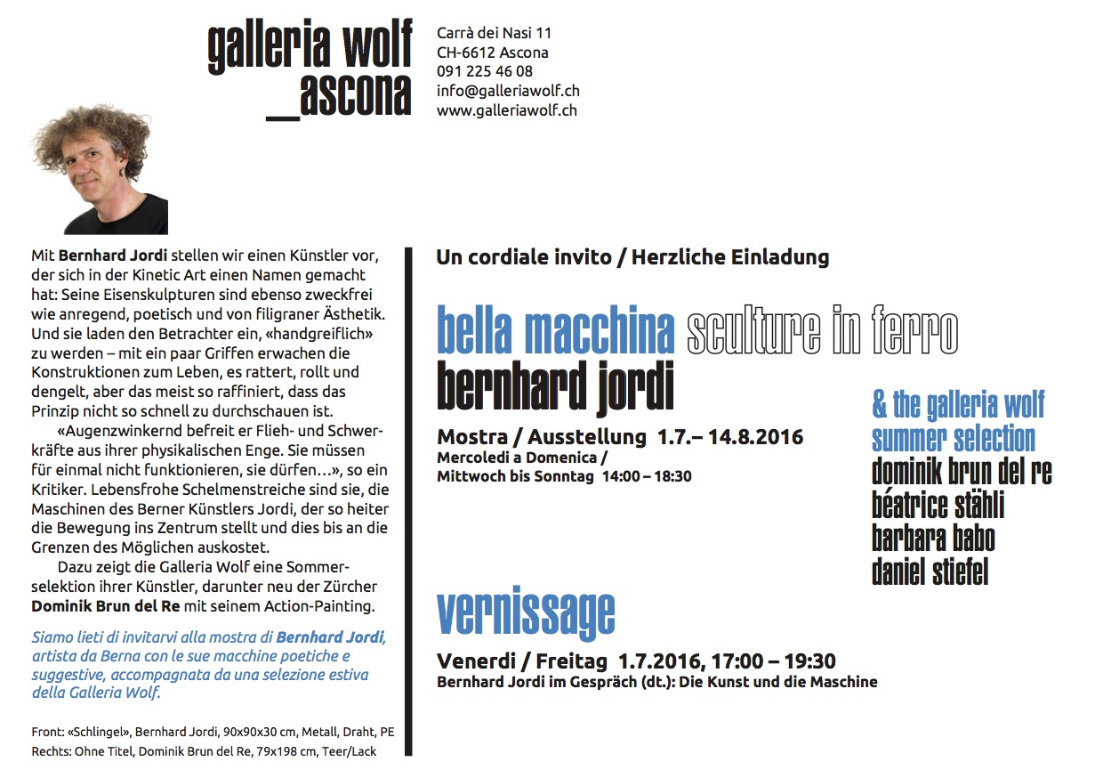 GalleriaWolf–BernhardJordi Invitation2