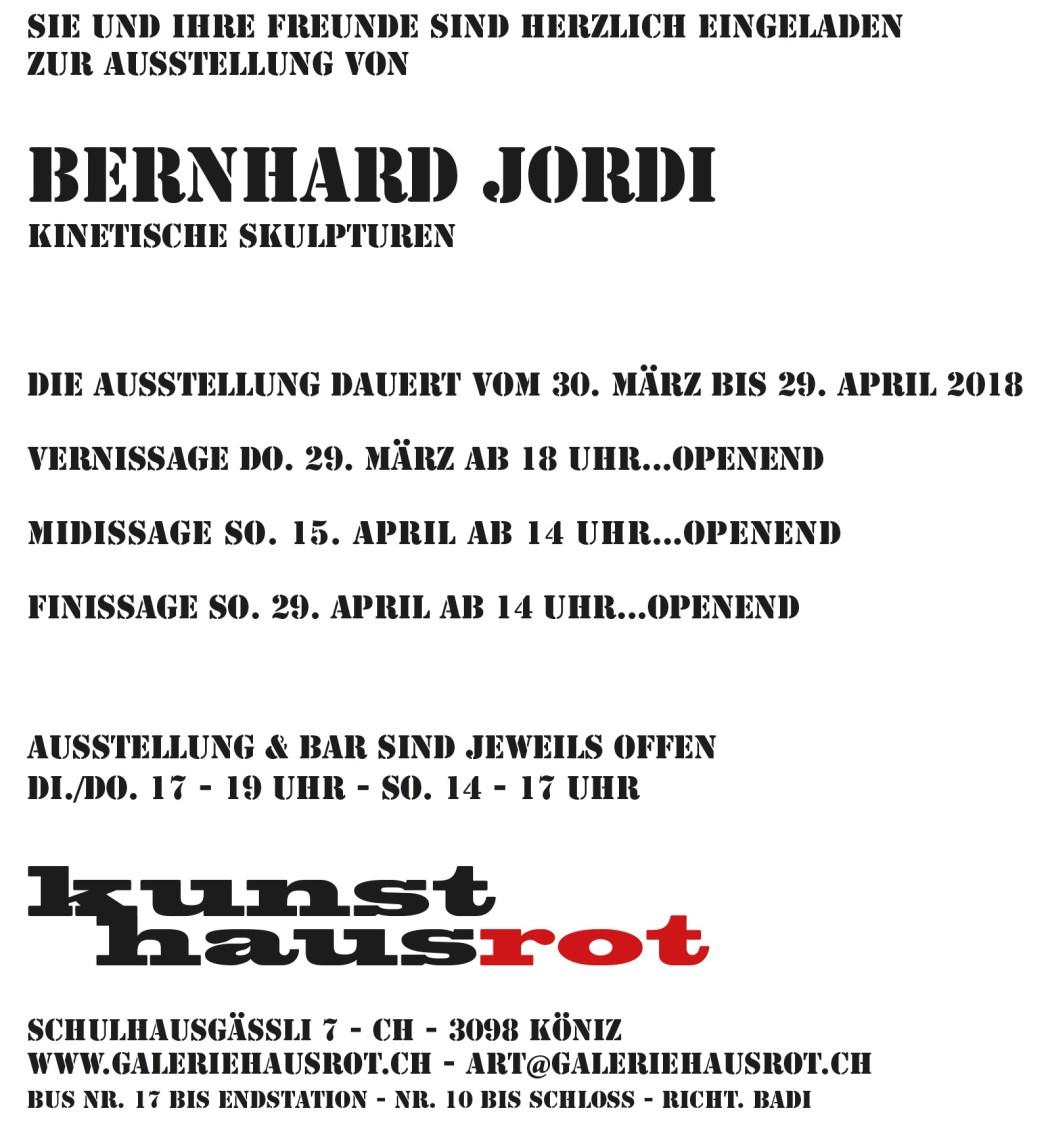 Einladung HausRot
