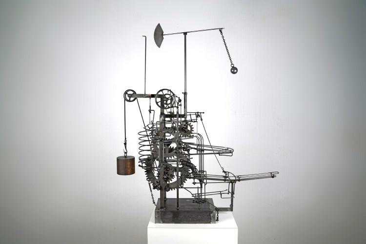 Skulptur von Bernhard Jordi 2018