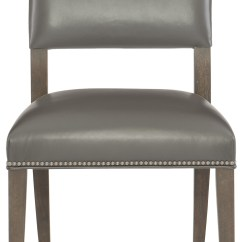 Leather Side Chair Diy Outdoor Lounge Cushions Bernhardt