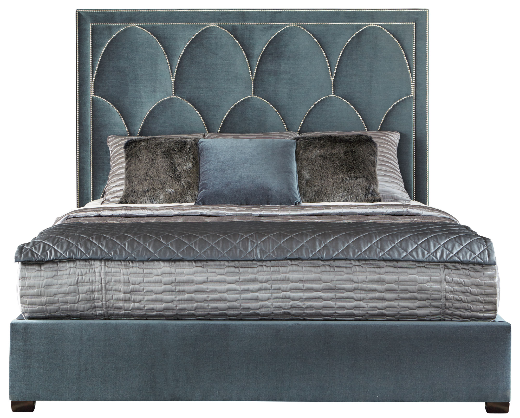 Upholstered King Bed  Bernhardt