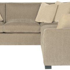 Left Arm Return Sofa What Color Rug With Brown Leather Sectional 2 Piece Bernhardt