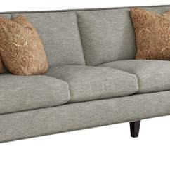 Cindy Crawford Bellingham Sofa Reviews Best Batting For Cushions Home Lusso Taupe Leather ...