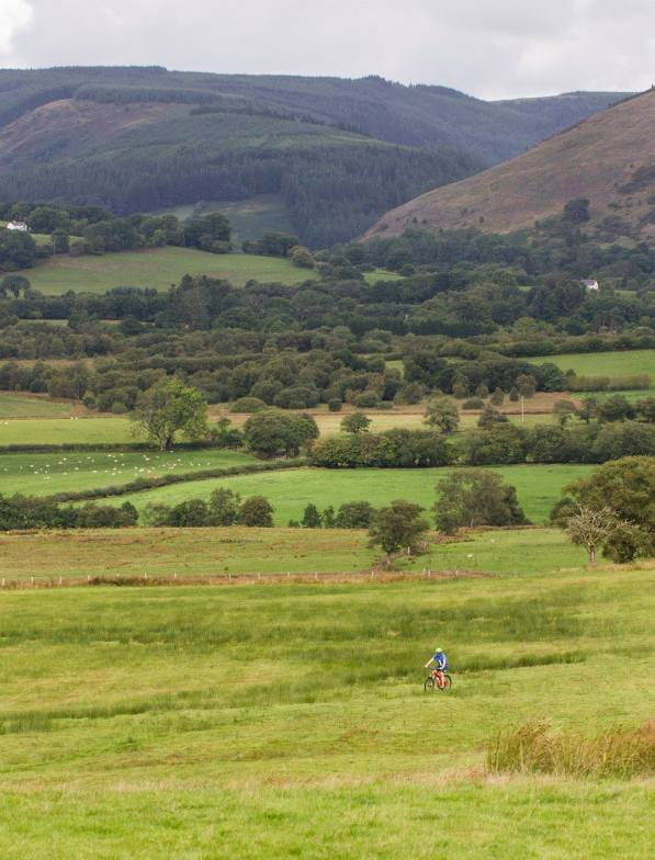 some of the beautiful scenery in which the events take place - bog triathlon