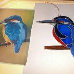 suncatcher, kingfisher