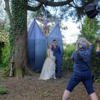 Bride Groom and Acrobatic Entertainment