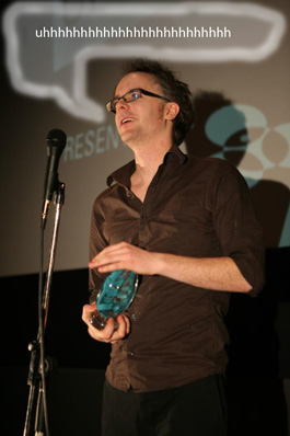 Berny_accepts_Audience_Choice_Award